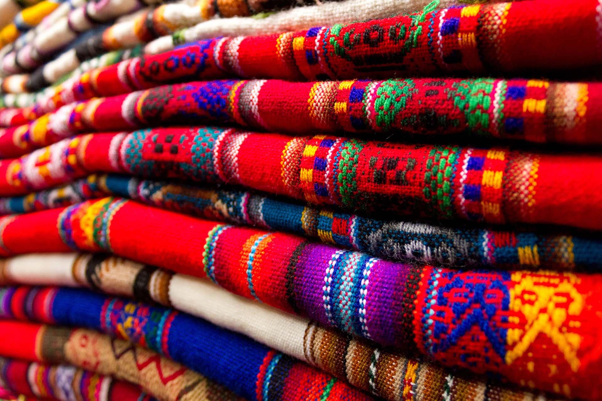 Regenboogberg, Titicacameer en Machu Picchu mooie landschappen van Amerika's