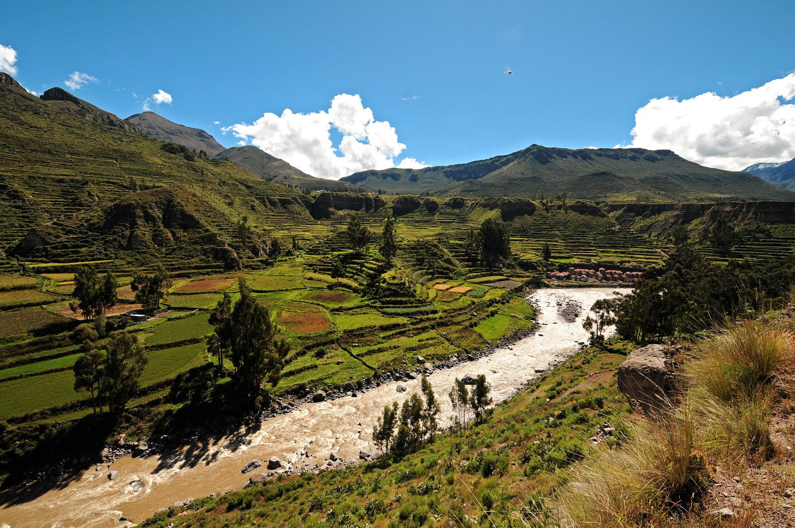 Unesco roept Colca Canyon en Valle de los Volcanes uit tot Geopark