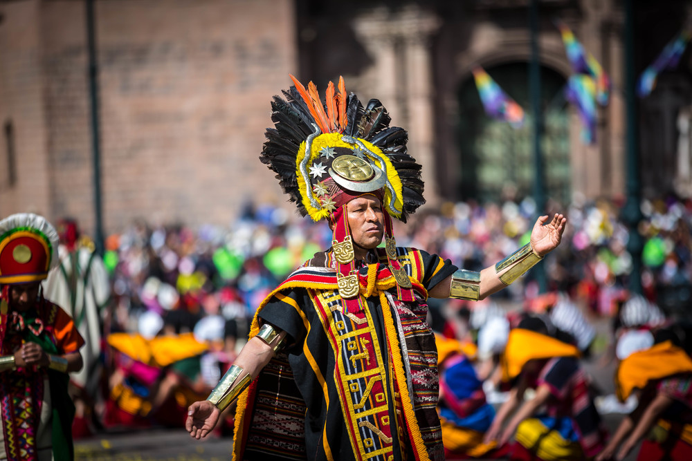 Peruaanse stad Cusco viert Inca-feest 'Inti Raymi' dit jaar digitaal