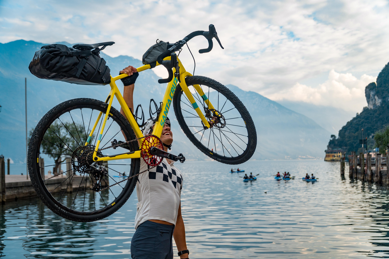 Nieuwe fietsroute verbindt Dolomieten met Gardameer