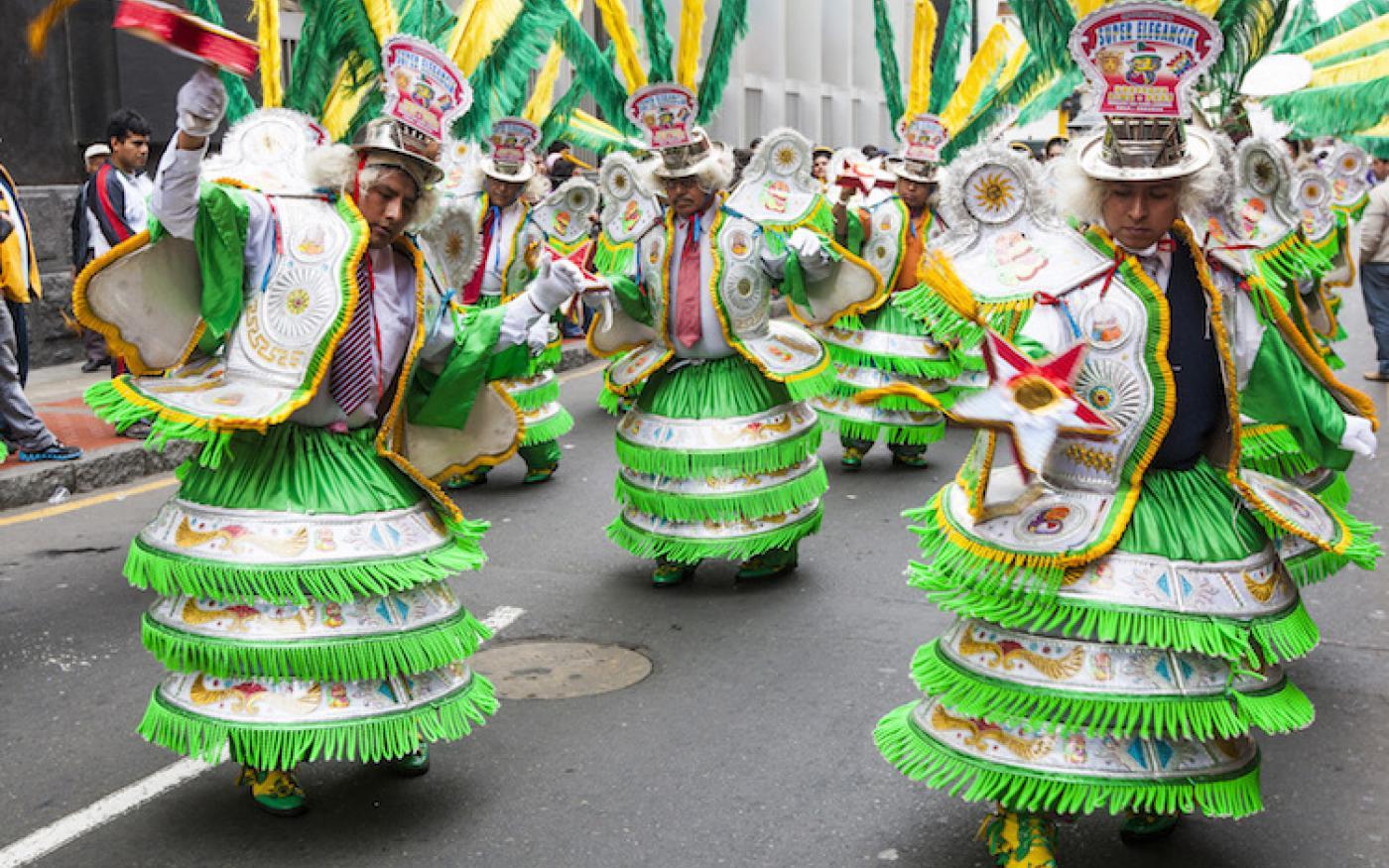Las Fiestas Patrias: De 28e viert Peru onafhankelijkheid!