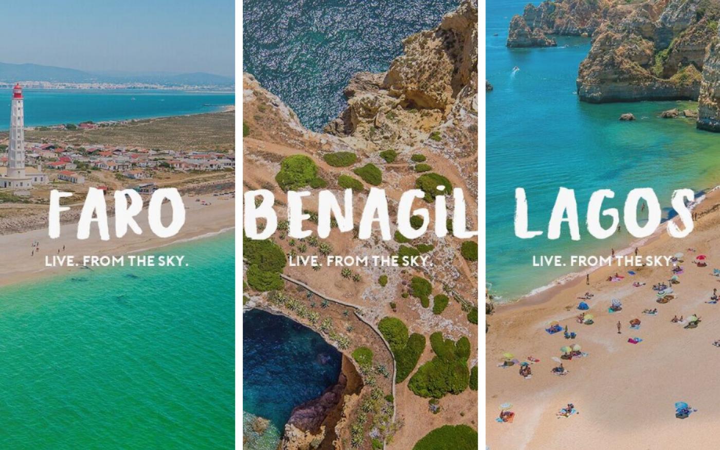 De Algarve vanuit de lucht – bekijk de livestream en doe mee aan de win-actie!