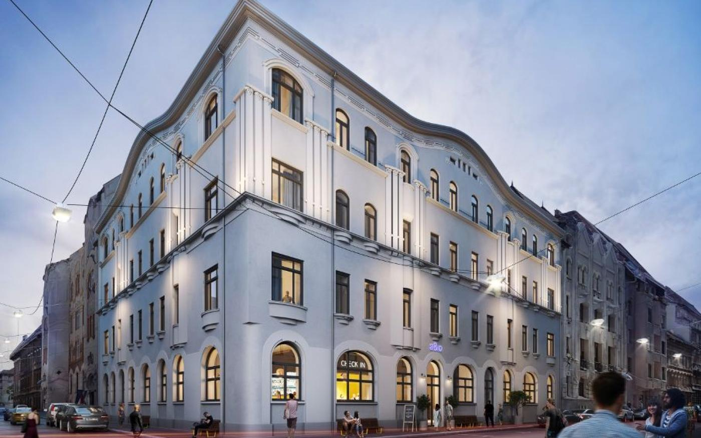a&o Hostels opent eerste hostel in Boedapest