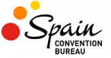 This is the logo of te Spain Convention Bureau